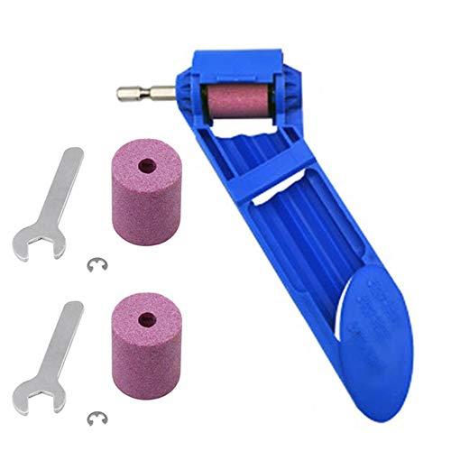 Utensile portatile per affilare punte diamantate per trapano ad alta durezza, strumento a mano diamantato (blu)