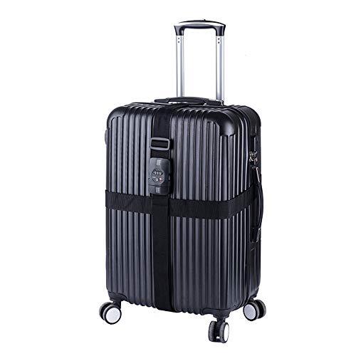 NatureHike bagages pour ceinture avec verrouillage pour valise Cross Secure Safe Voyage de protection douanière Mot de passe PC snap Valise