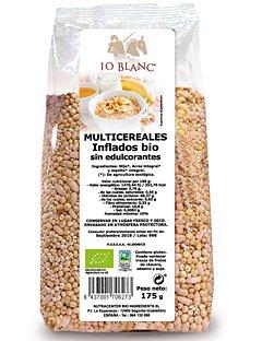 Multicereales inflados bio sin edulcorantes Lo Blanc - Bolsa 175 g