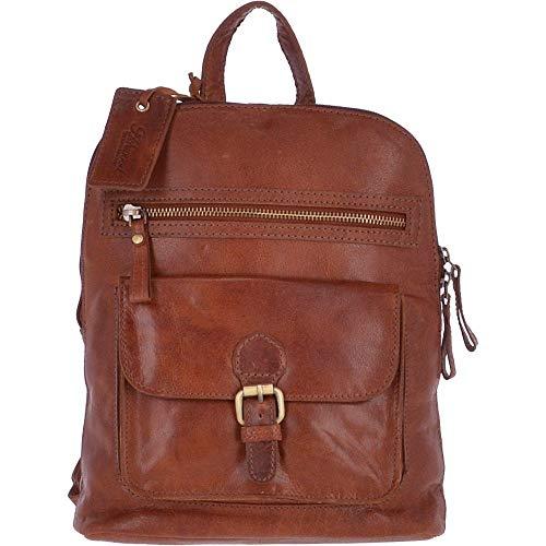 Ashwood Kleiner Vintage Leder-Rucksack Honig - G25, Braun - Honigbraun - Größe: Einheitsgröße