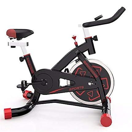 Bicicletas de ejercicio Juego de bicicleta de spinning Inicio ultra silencioso pequeño ejercicio de bicicleta de ejercicios Equipo bicicleta de gimnasio Bicicleta de entrenamiento para el hogar plegab