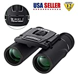 ☀Pocket binoculars, portable size: 4. 7x3. 9x2inches; light weight: 0. 4lb, portable binoculars to fit well in pockets, Easy to carry for outdoor recreation ☀Binoculars with non-slip handle, wide compatibility for travel, watching football or Basketb...