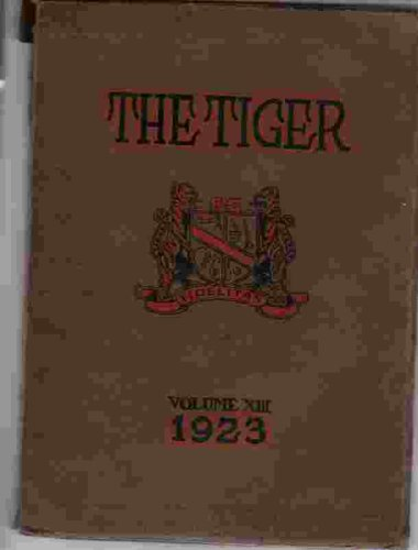 The Tiger (South High School Yearbook, 13)