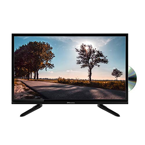 """EMtronics 24"""" Inch HD Ready TV with DVD Player, USB PVR and Satellite Tuner"""