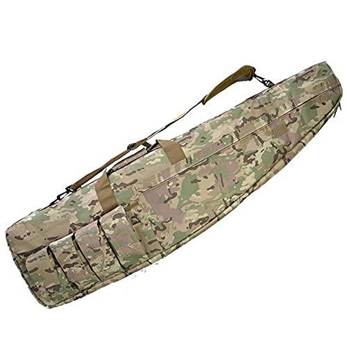 JINGJIN Funda para Escopeta | Fundas para escopetas de Caza Escopeta Gun Rifle Bolsa de Almacenamiento con Correa de Hombro Ajustable Funda Flexible para Rifles de Caza,47.2inch