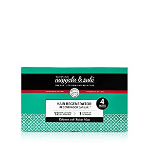 Nuggela & Sulé Tratamiento Regenerador Capilar, 4udsx10ml.- Alto Rendimiento. Ingredientes activos que estimulan el crecimiento del cabello, aumentan su grosor y densidad. Finalista MEJOR PRODUCTO.
