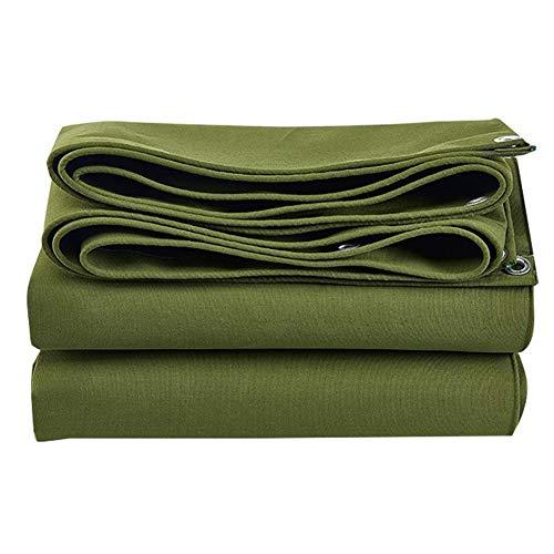 Afdekzeil, waterdicht, resistent, regenbestendig, voor buiten, corrosiebestendig, met groene stof 30x45ft-10x15m Groen