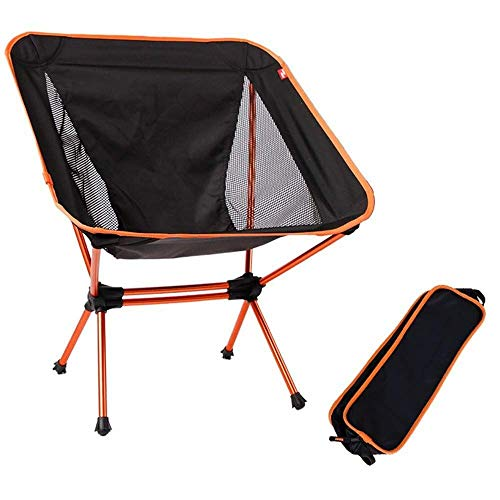 Heavy-duty Camping Chair Folding Chair Beach Chair Is Ideal For Outdoor, Camping, Backpack, Holiday, Compact And Heavy Duty, Support 150kg, Including Carrying Bag For outdoor, indoor