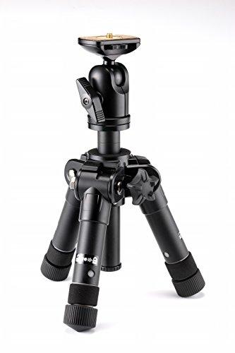 Velbon 卓上三脚 ウルトラロック ULTRA 553 mini 5段 中型 脚径27mm 自由雲台付 アルミ製 412744