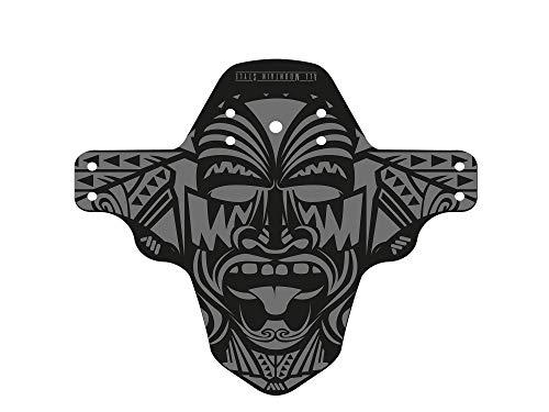 All Mountain Style Guardabarros delantero – Protege a tí y a tu bicicleta, Gris/Maori ⭐