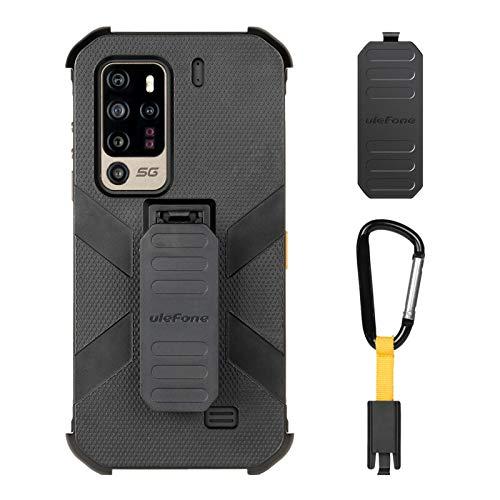 Ulefone Handy Multifunktionale Schutzhülle für Armor 11/Armor 11T 5G Outdoor Smartphones ohne Vertrag Schwarz