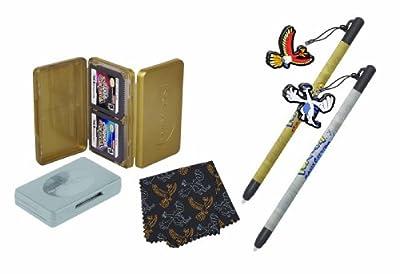PowerA Nintendo Licensed Pokemon HeartGold and SoulSilver Basics Accessory Kit (DSi, DS Lite)