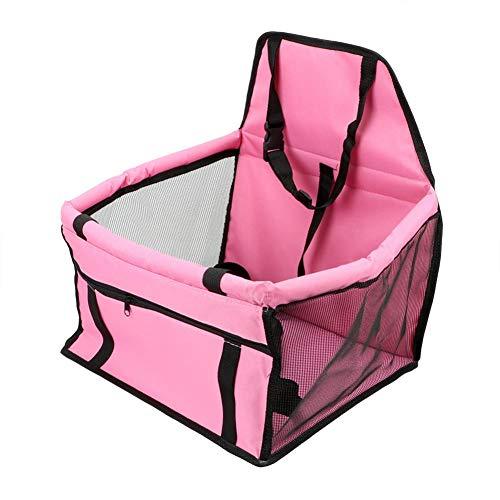JIRENSHU Travel Dog Funda de Asiento de Coche Safety Dog Basket Pet...