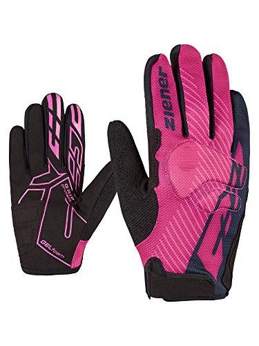 Ziener Kinder CHIKO long junior bike glove Fahrrad-/Mountainbike-/Radsport-Handschuhe | Langfinger - atmungsaktiv/dämpfend