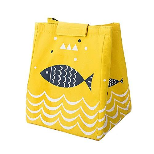 Duel Isolierte Handtasche Oxford Tuch Schultertasche Handtasche Mädchen Eimer Tasche Handtasche Einfache Große Kapazität Handtasche Lady Reisetasche für Outdoor