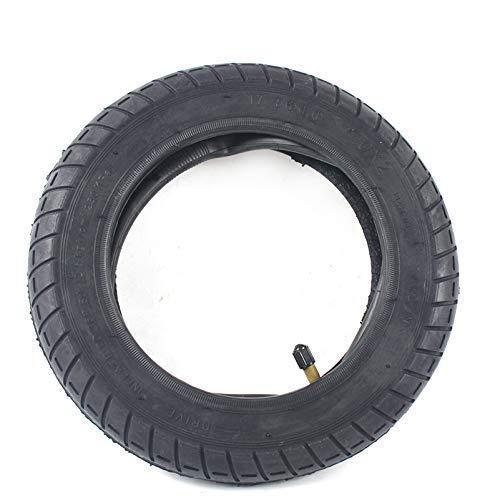 Neumáticos amortiguadores para Scooters eléctricos Neumático de Scooter eléctrico Neumático de inflado más Grueso Neumático de Rueda 10 Pulgadas Tubo Interior Exterior Mejora de neumático Neumático F