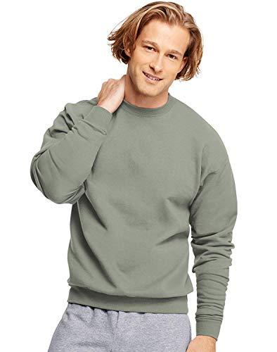 Hanes ComfortBlend EcoSmart Crew Sweatshirt_Charcoal Heather_4XL