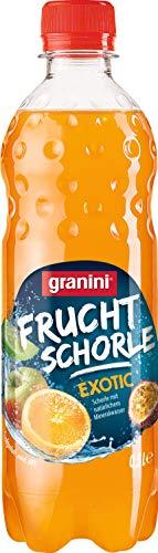 granini Frucht Schorle Exotic EINWEG, (18x 500 ml)