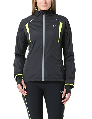 Ultrasport Stretch Delight - Chaqueta de running y ciclismo para mujer, color...