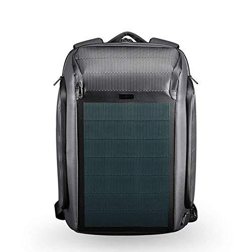 JYTBB Outdoor/Mode Rugzak, diefstalbeveiliging, laptoptas, waterdicht, 15,6 inch, met USB-aansluiting voor reizen in de open lucht en op de camping blue
