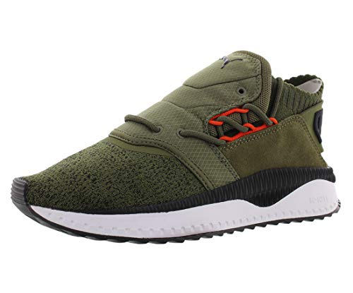 PUMA Mens Tsugi Shinsei Nocturnal Lace Up Sneakers Casual Sneakers, Green, 10.5