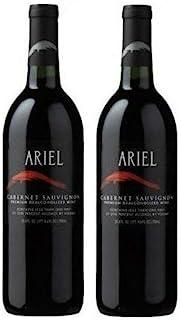 Ariel Cabernet Sauvignon Wine 750ML 2 PACK Alcohol Removed Dealcoholized 25.4 oz Red Oak Aged