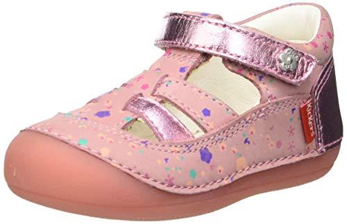 Kickers SUSHY, Zapatos Planos Mary Jane Unisex bebé, Rosa Blossom 13, 24 EU