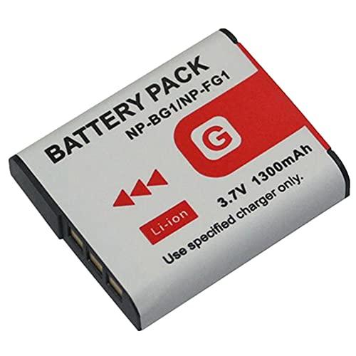 NP-BG1 Battery for Sony Type G NP BG1 Cyber Shot Cyber-Shot DSC-H3 DSC-H7 DSC-H9 DSC-H10 DSC-H20 DSC-H50 DSC-H55 DSC-H70 DSC-H90 DSC-HX5V DSC-HX7V DSC-HX9V DSC-HX10V DSC-HX20V DSC-HX30V DSC-N1 DSC-N2
