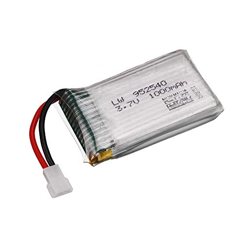 3 7V 1000mAh 25c batería Lipo 952540 para Syma X5 X5C X5SC X5SW TK M68 MJX X705C SG600 Rc Quadcopter Drone repuestos-CHINA_PC 1