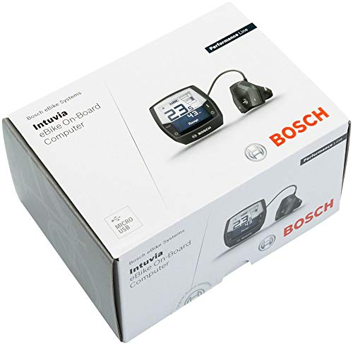 Bosch Intuvia Nachrüst-kit, Anthrazit, One Size