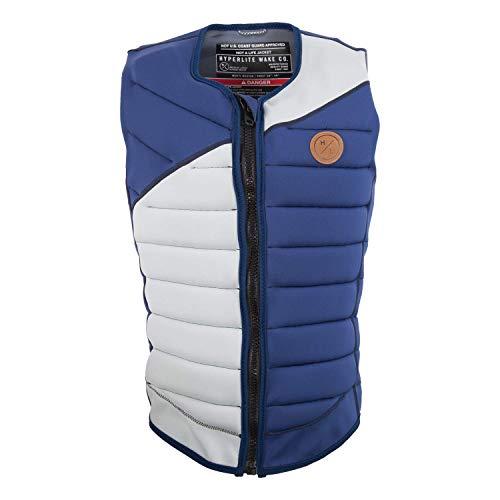 Hyperlite Ripsaw Comp NCGA Wakeboard Vest Mens Sz M Navy Grey