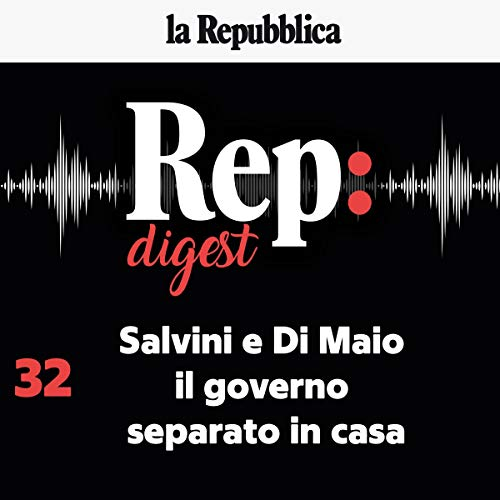 Salvini e Di Maio, il governo separato in casa audiobook cover art