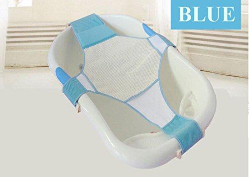 bluesnail réglable bébé Baignoire Filet de sécurité Support de Bain Enfant Soins de douche pour 0 ~ 2 ans nouveau-né infantile tout-petits (à 20 kg)
