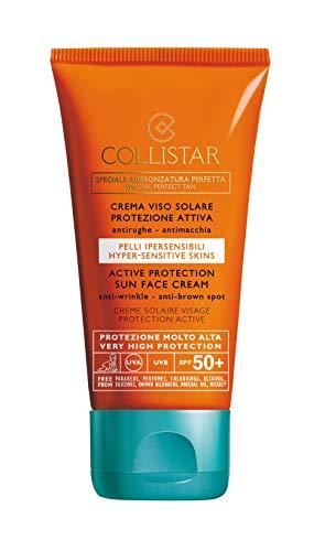 Collistar Crema Viso Solare Protezione Attiva (SPF 50+) - 50 ml.