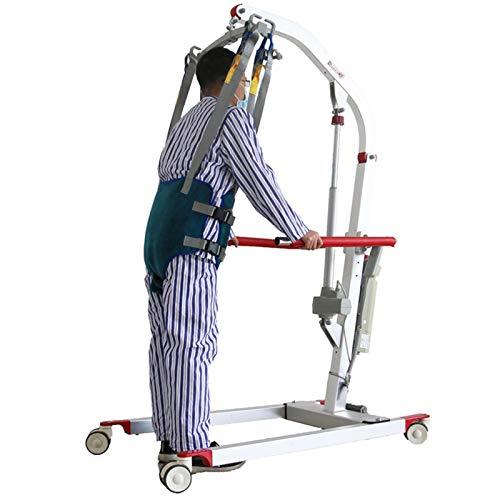 41rW6OjRksL - XIAORANA Arnés para traslados, Arnés de Elevación de Paciente de Cuerpo Completo, para grúa de 4 Pinzas, Superacolchado, para Posicionamiento Y Elevación De La Cama, Enfermería (Dimension : Medium)
