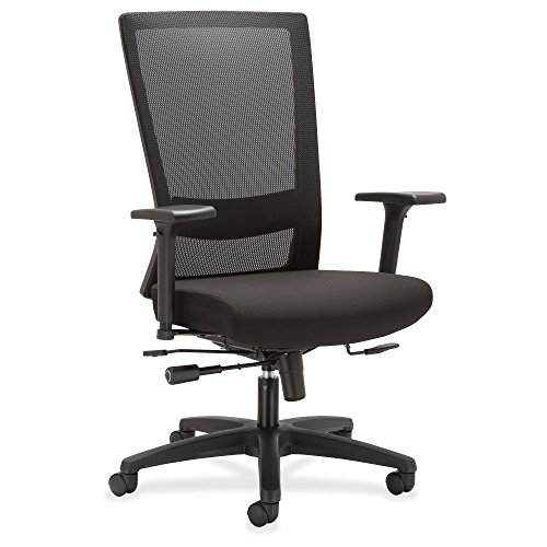 Lorell Mesh High-back Seat Slide Chair