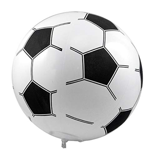 TRIXES Ballon de Football de Plage Gonflable géant 14 Pouces