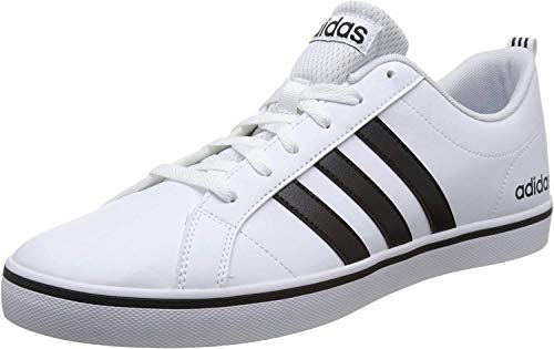 Adidas Sneakers, Zapatillas para Hombre, Blanco (Footwear White/Core Black/Blue 0), 45 1/3 EU
