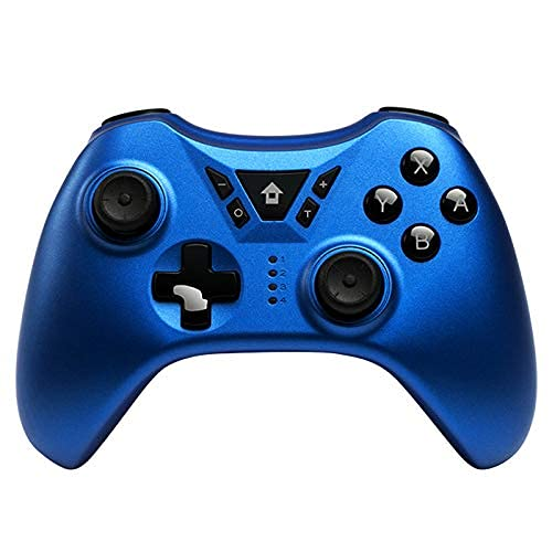 DealMux New Switch Pro Controller inalámbrico Gamepad Joystick para Switch NS para PS3 / PC/Android/Steam (Azul)
