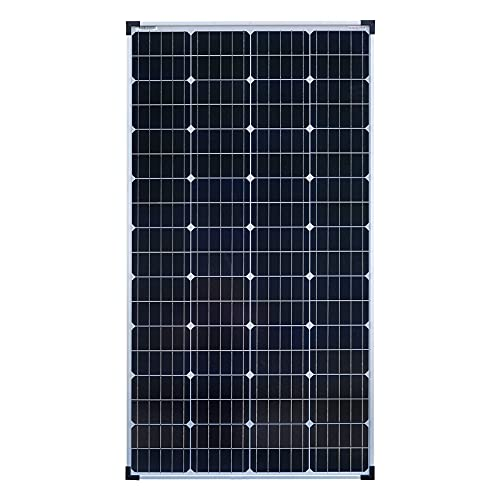 Módulo de panel solar monocristalino de enjoysolar® de 150W 12V
