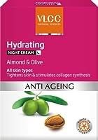 VLCC Hydrating Anti Ageing Night Cream, 50g by VLCC [並行輸入品]