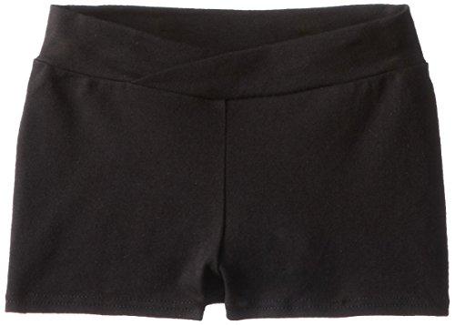 Capezio Little Girls' Boy Short,Black,T (2-4)