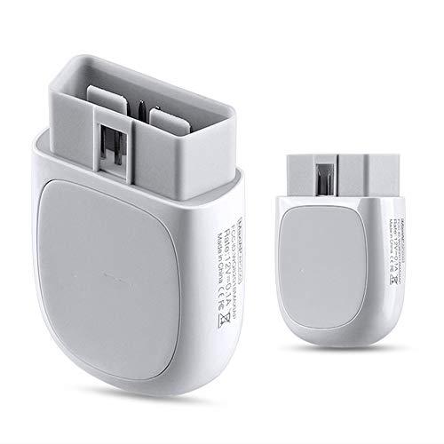 WXH OBD2 Auto Herramienta de diagnóstico del Coche escáner Bluetooth, Lector de código de Herramienta de escaneo Monitor de Salud del Coche para Dispositivos iOS y Android 🔥