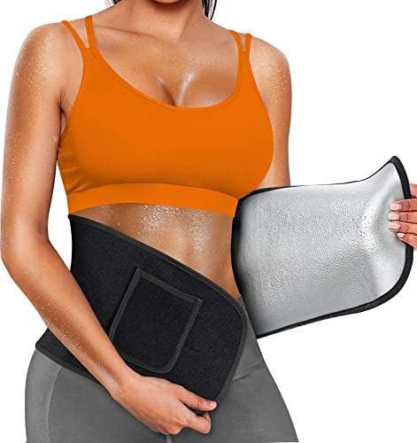 Nebility Waist Trainer Belt for Women Men Waist Trimmer Sauna Sweat Waist Cincher Body Shaper product image