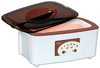 GiGi Digital Paraffin Bath with GiGi Peach Paraffin Wax 6 lbs