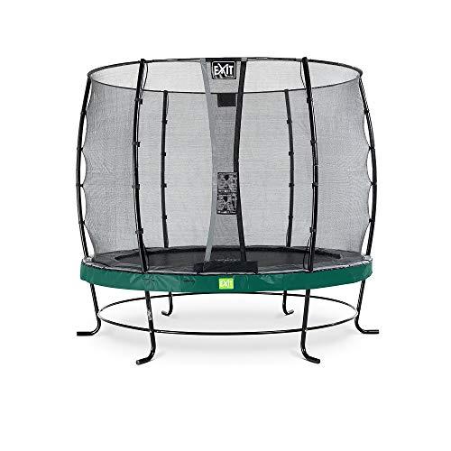 exit Trampoline Elegant Premium (incl. Deluxe veiligheidsnet) - 366 cm - Groen