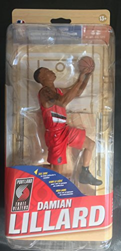 McFarlane NBA Series 30 CL Silver DAMIAN LILLARD #0 - Portland Trail Blazers #1000 Sports Picks Figure