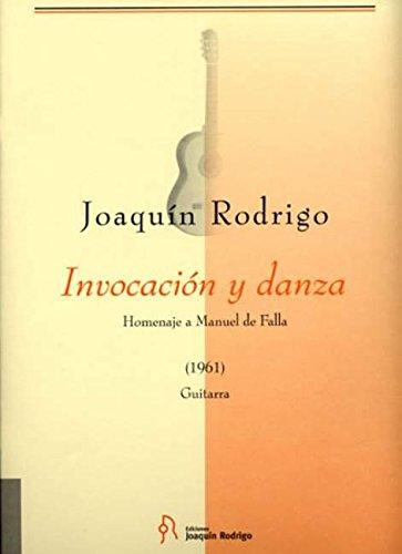 Invocación y danza: Homenaje a Manuel de Falla. Gitarre.