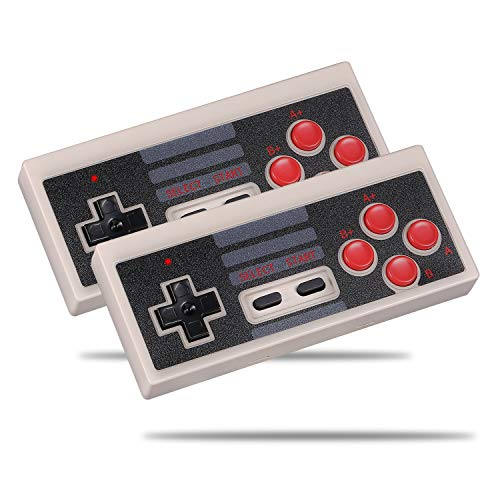 Railay Wireless Controller for Nintendo NES Classic Mini Edition Console (2-Pack)