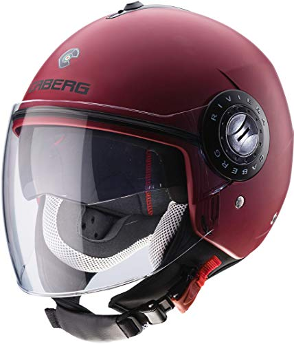 Caberg - Casco Riviera V3 ATT Red Wine M XL matt bordeaux